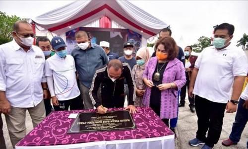 Resmikan Perpindahan Taman Budaya Sumut ke PRSU, Gubernur Berpesan Lindungi Kesenian dan Budaya Sumut