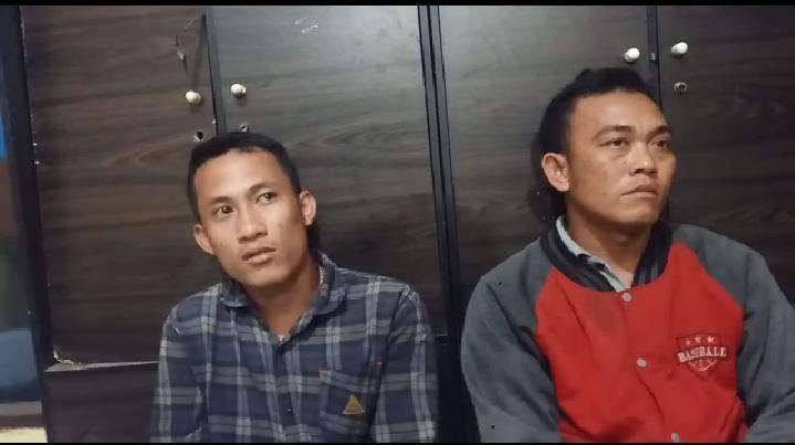 Pasang Spanduk Penolakan HRS di Jalan Arteri, Dua Pria Diserahkan ke Polresta Deli Serdang