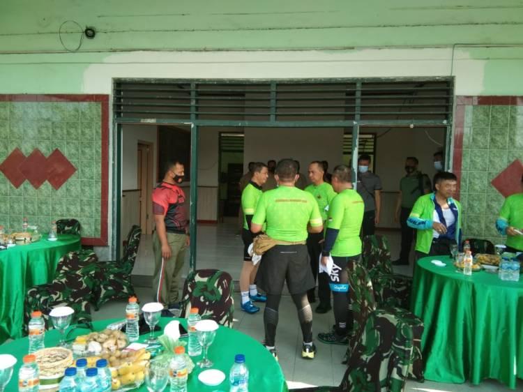 Dandim Surabaya Utara Sambut Kedatangan Pangdam Brawijaya