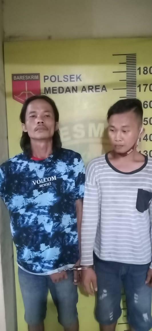 Dua Orang Komplotan Bongkar Rumah Disergap Polisi di Medan