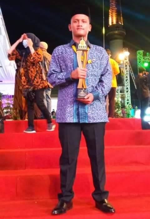 Kepala Kantor Kemenag Padang Lawas Apresiasi Taufik Hasibuan Raih Juara 1 MTQN Sumbar 2020