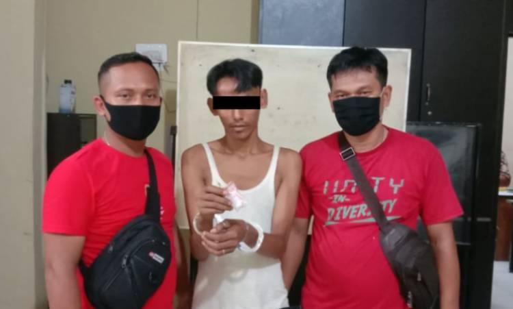Jual Sabu, Jimi Margolang Diciduk Polres Tanjung Balai