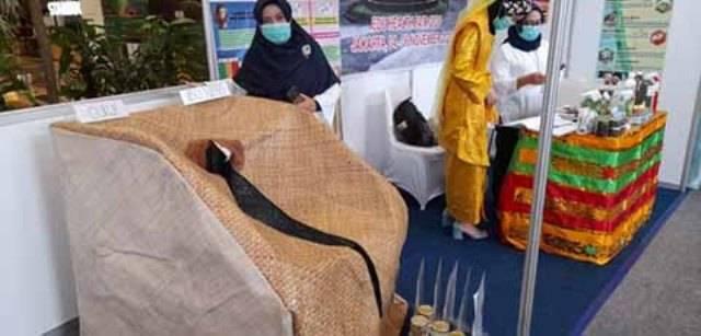 Edu Health Fair 2020, Poltekkes Medan Pamerkan Inovasi Oukup Ibu Nifas