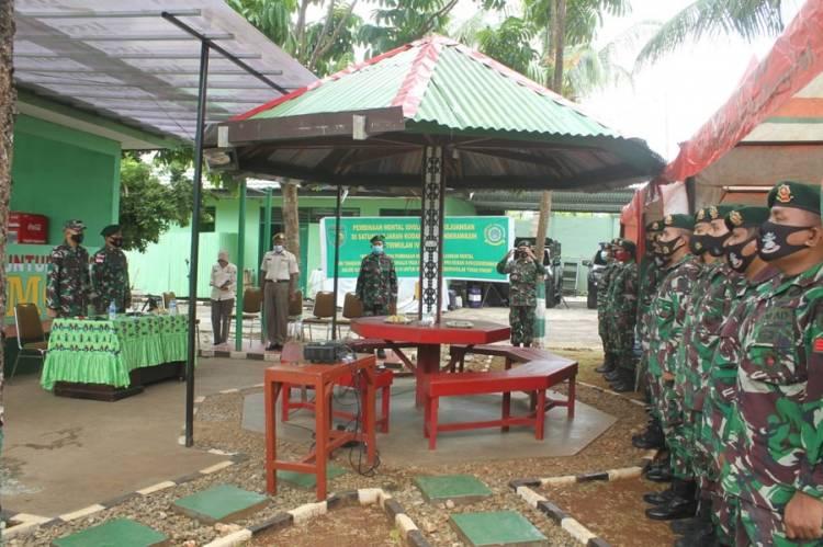 Kabintaldam XVII Cendrawasih Motivasi Satgas Yonif MR 413 Kostrad di Jayapura