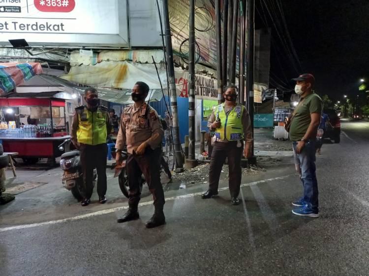 Cegah 3 C,  Polsek Medan Helvetia Patroli Gabungan di Wilayah Hukumnya