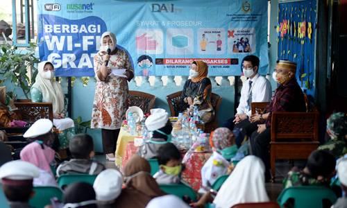 Nawal Apresiasi Program Internet Gratis untuk Anak Didik di Medan