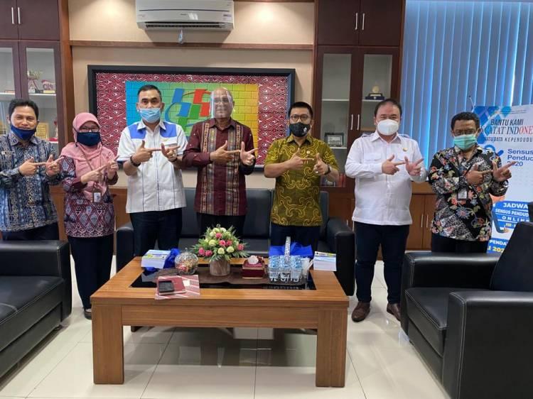Alumni Lemhannas RI Silaturahmi ke BPS Sumut, Diskusikan Pembentukan Laboratorium Pengukur Ketahanan Nasional