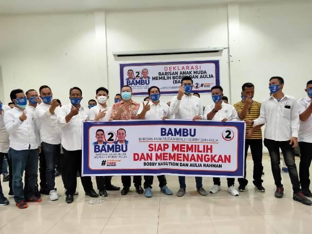 Deklarasikan BAMBU Siap Menangkan Bobby-Aulia di Pilkada Medan 2020