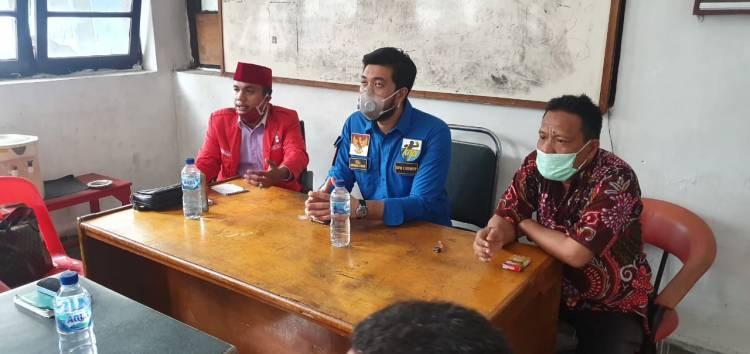 Kunjungi GMNI dan Pemuda Demokrat, El Berharap Pemuda Sumut Tetap Solid