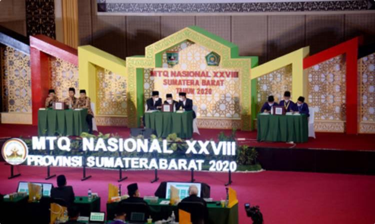 Kafilah Sumut Lolos 5 Cabang Final MTQN 2020 di Sumbar