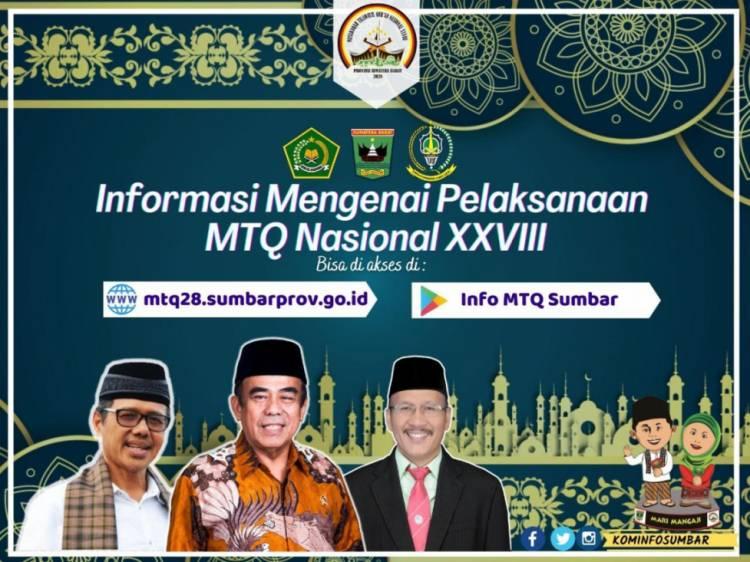MTQ Nasional 2020 di Sumbar, Ini Panduan Kafilah Saat Tiba di Bandara Minangkabau