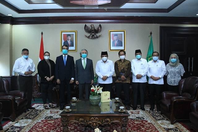 Dubes Afghanistan Kunjungi Menteri Agama, Harap Bantuan Guru Perempuan dari Indonesia