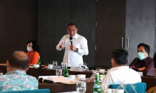 Rakor TPID se-Sumut Tahun 2020, Gubernur Sumut Ingatkan Antisipasi Inflasi Akibat Fenomena La Nina