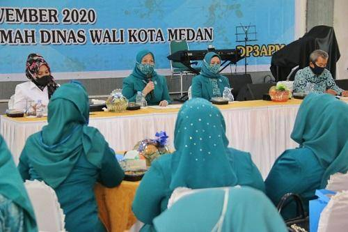 Kadis P3APM Harapkan Kader TP PKK Kota Medan Sosialisasikan Protokol Kesehatan