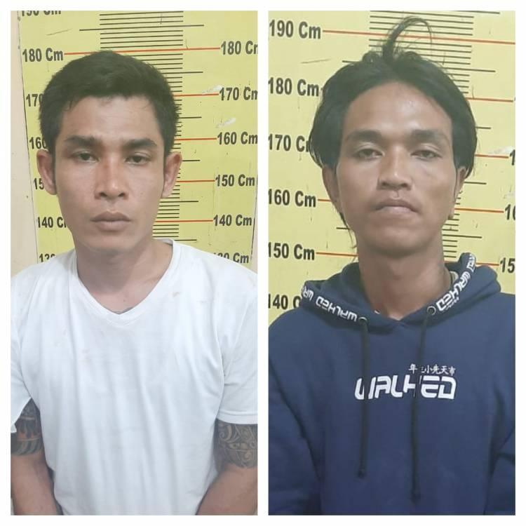 Polsek Delitua Tangkap Dua Sindikat Curanmor di Jalan Karya Wisata Medan