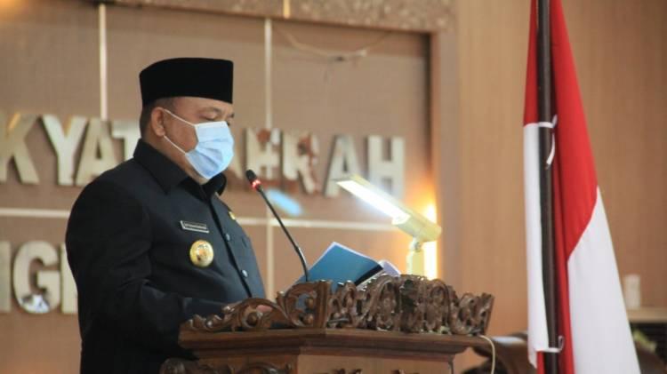 Bupati dan DPRD Langkat Tandatangani Kesepakatan KUA PPAS APBD 2021