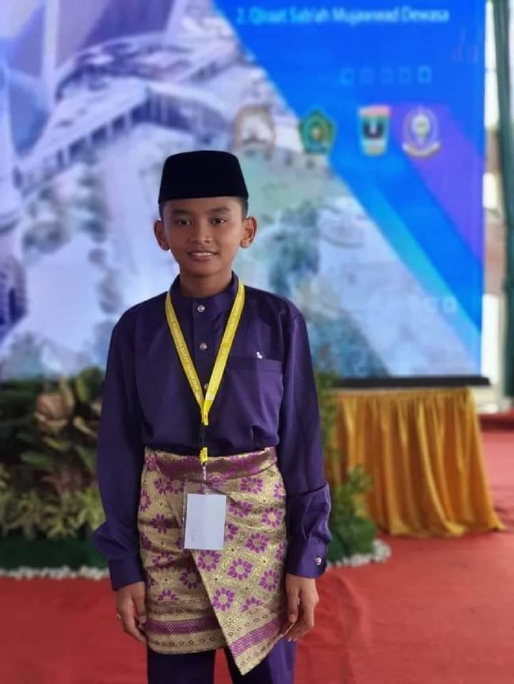 Siswa MTsN 3 Labura Hafiz Prananda Sofian Munthe Ikuti MTQ Nasional 2020 di Sumbar