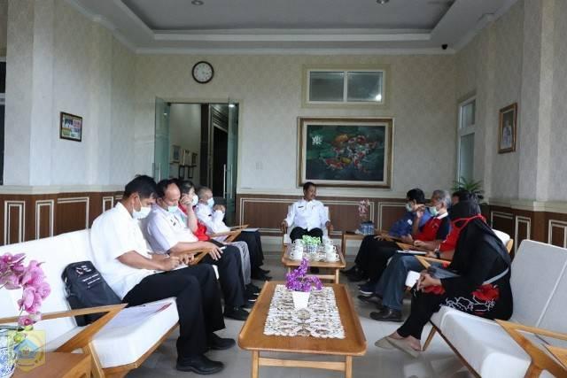Paparkan Program Kerja, PMI Sumut Audiensi ke Pemkab Pakpak Bharat