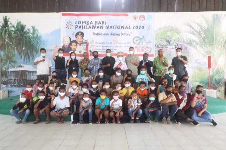 Seratus Pelajar Ikuti Lomba Hari Pahlawan Nasional 2020 dari P5 dan Rumah Belajar Papua