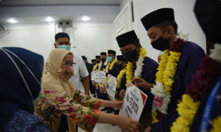 Pemprov Apresiasi Prestasi Kafilah MTQ Asal Sumut di Asrama Haji Medan