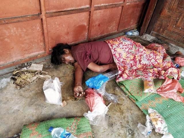 Pria Tunawisma Ditemukan Tewas di Depan Rumah Makan BPK Jalan Setia Budi