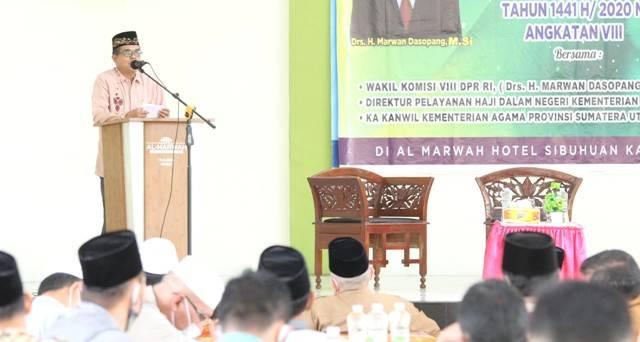 Covid-19 Belum Sirna, Kakanwil Kemenagsu: Mari Berdoa, Semoga Tahun Depan Bisa Berangkat Haji!