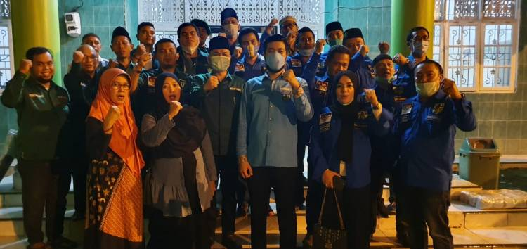Silaturahmi ke Al Washliyah, El Sebut Kadispora Sumut Harus Peduli Pemuda