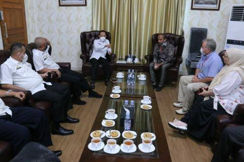 Konjen Rusia Jalin Silaturahmi Bersama Pemerintah Kota Medan