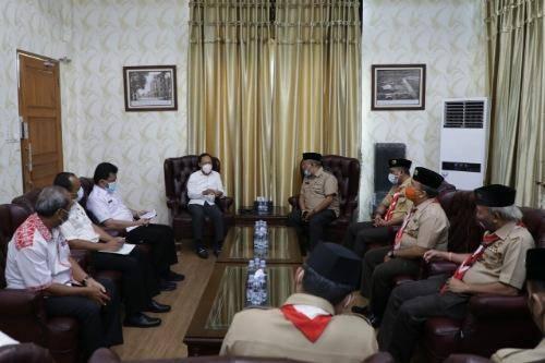 Pjs Walikota Medan Dukung Muscab Gerakan Pramuka Kwarcab Kota Medan