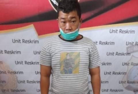 Polsek Kualuh Hilir Tangkap Pencuri Spesialis Bongkar Rumah di Tanjung Leidong