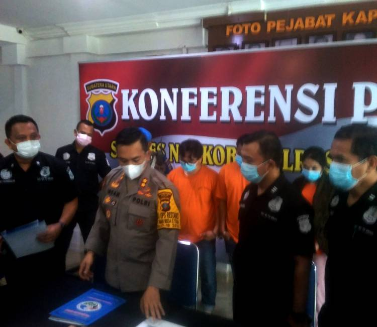 Anggota DPRD Labura Berinisial PG Ditangkap Polisi Usai Pesta Narkoba Bersama Wanita dan Sopir di Medan