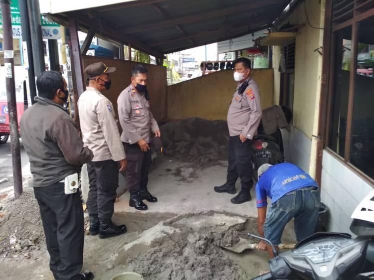 Beri Kenyamanan, Polsek Medan Area Renovasi Pos Pol Sektor Sukaramai