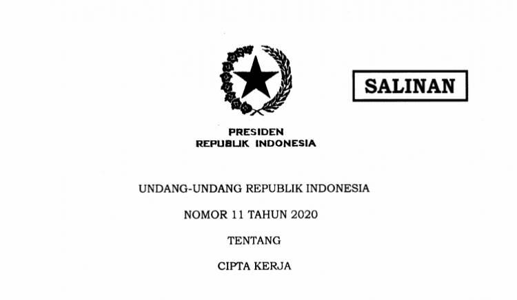 Pemerintah Siapkan Konsultasi Publik Aturan Turunan UU Cipta Kerja