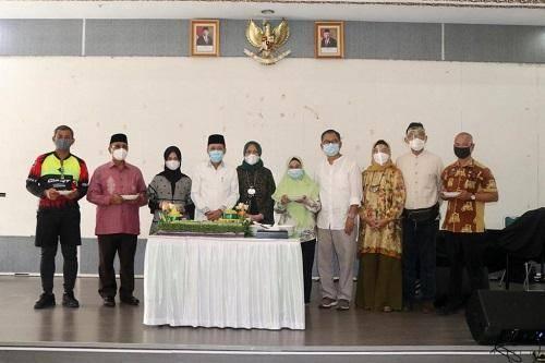 Ulangtahun Arief Sudarto ke-56, Keluarga Besar Pemko Gelar Syukuran Sederhana