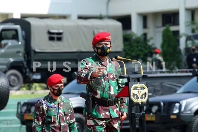 Panglima TNI Sidak Tiga Markas Komando Pasukan Khusus TNI di Cijantung