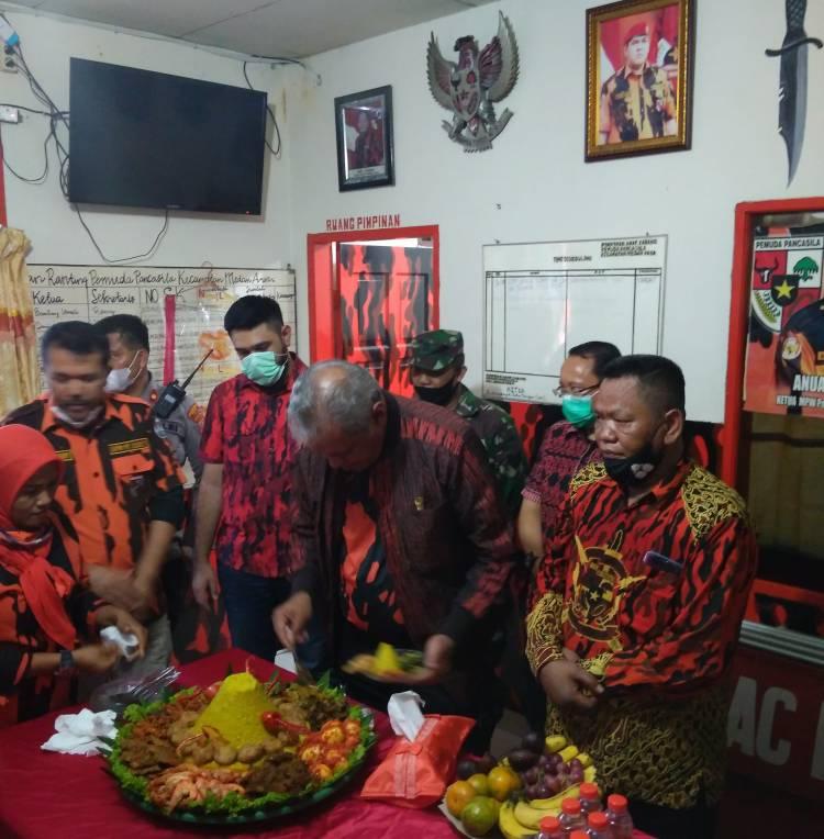 Kodrat Shah Resmikan Renovasi Kantor PAC PP Medan Area, Ajak Kader Berbuat Baik kepada Masyarakat