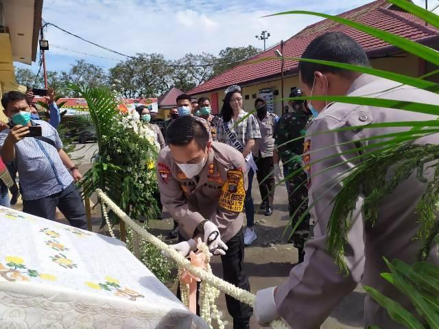 Wakapolrestabes Medan Resmikan Taman Satwa Mini di Mapolsek Helvetia