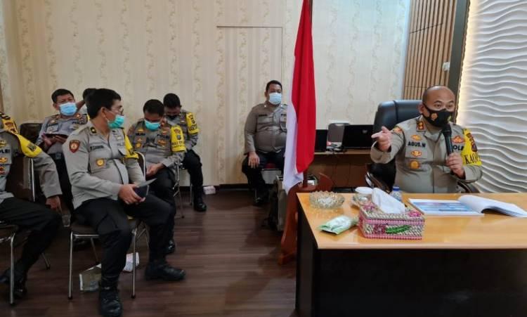 Polres Simalungun Ikuti Desk Evaluasi Zona Integritas Kemenpan RI, Dukung Pemerintah Ciptakan Wilayah Bebas Korupsi