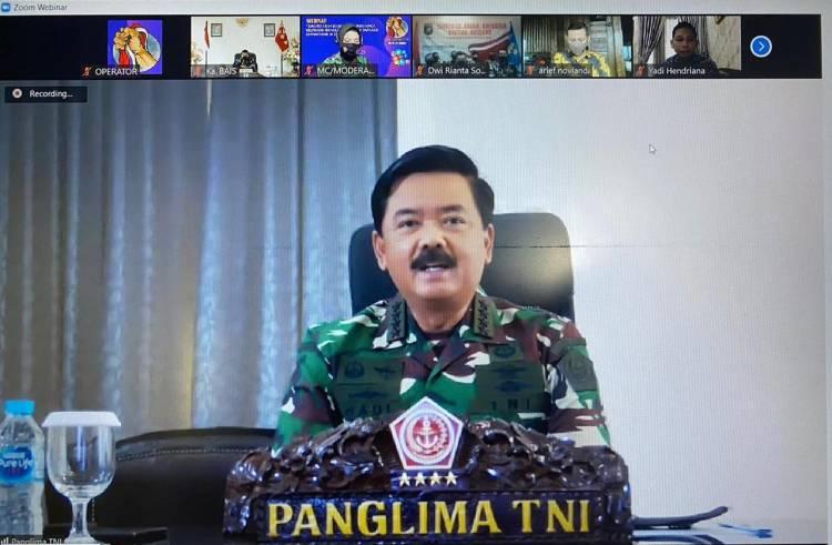 Panglima TNI: Separatisme di Dunia Maya Merupakan Ancaman Serius Terhadap Persatuan dan Kesatuan Bangsa