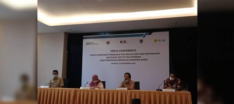 KPK Apresiasi Capaian Sertifikasi Aset PLN di Banten dan Sumbar