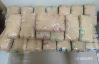 Polrestabes Medan Amankan 48 Kilogram Ganja dari Pabrik Kapur