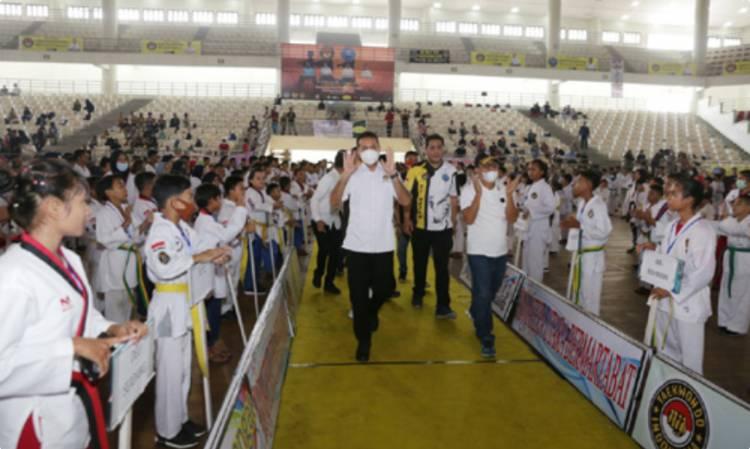 Musa Rajekshah Hadiri Penutupan Kejuaraan Taekwondo Poomsae 2020