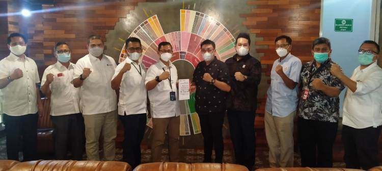 Silaturahmi dengan Pelindo 1, KAD Anti Korupsi Sumut Sosialisasikan Pencegahan Tindak Pidana Korupsi