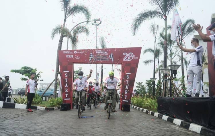 Ajak Hidup Sehat, Pelindo 1 Gelar Flag Off Run & Ride 2020