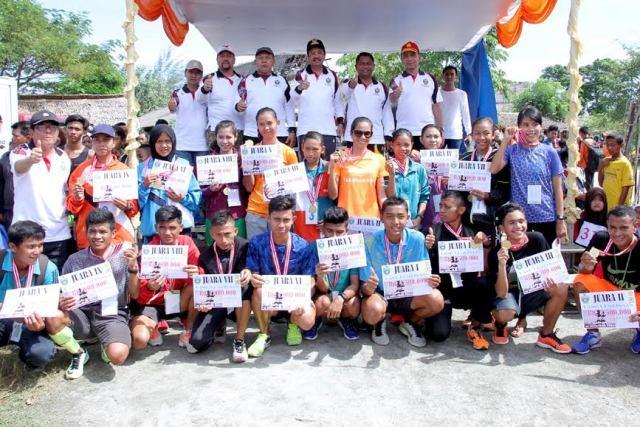 Peserta Lomba Lari Piala Gubsu Gratis Masuk Theme Park