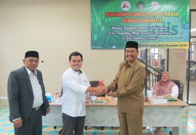 Pengelola Perpustakaan se-Aceh Dibekali Pelatihan Otomasi Perpustakaan