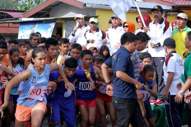 6000 Peserta Ikuti Lari 10 K dan 5 K Piala Gubsu