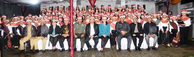 Pemkab Humbahas Gelar Christmas Carol dan Pawai Doa Natal