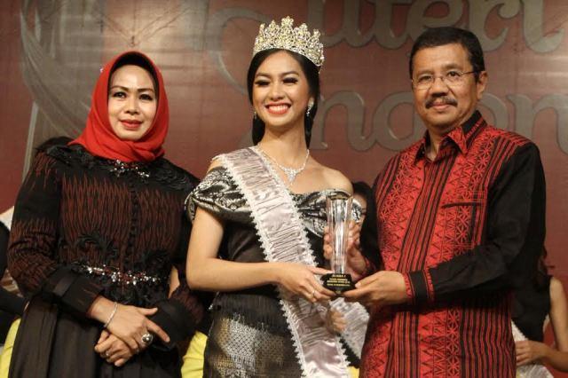 Sitanggang, Mahasiswi Unpri Medan Ini Resmi Jadi Putri Sumut 2016