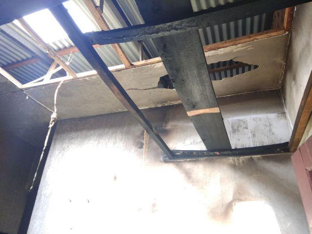 Penghuninya Pergi Bekerja, Rumah Warga Bajak V Amplas Ini Kebakaran
